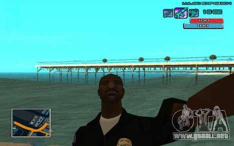 C-HUD por WH editado Mr_Zlo para GTA San Andreas segunda pantalla