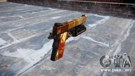 Pistola De Kimber 1911 Elite para GTA 4 segundos de pantalla