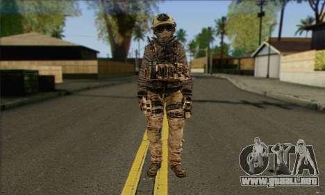 Task Force 141 (CoD: MW 2) Skin 13 para GTA San Andreas