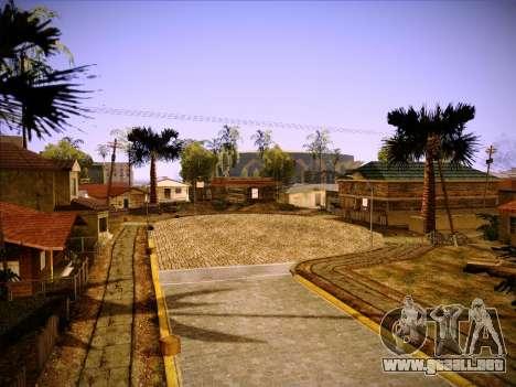 Nueva ENBSeries por MC_Dogg para GTA San Andreas sucesivamente de pantalla