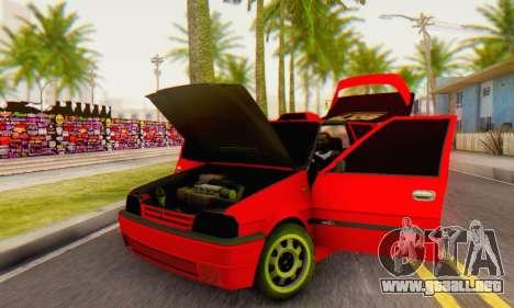 Dacia Super Nova Tuning para GTA San Andreas vista hacia atrás