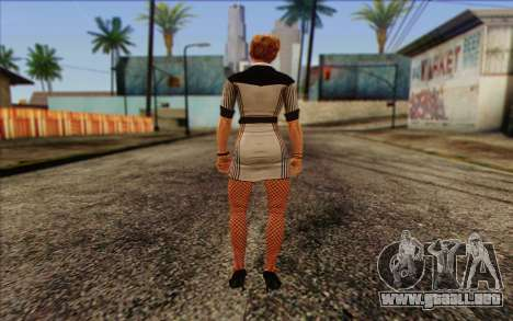 Tracy from Batman Arkham Origins para GTA San Andreas segunda pantalla