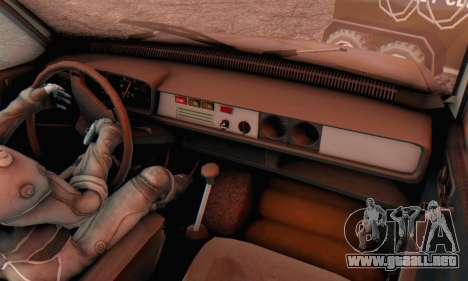 Dacia 1310 MLS Rusty Edition 1988 para GTA San Andreas vista hacia atrás
