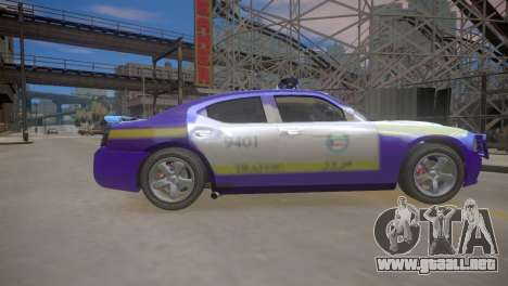 Dodge Charger Kuwait Police 2006 para GTA 4 vista interior