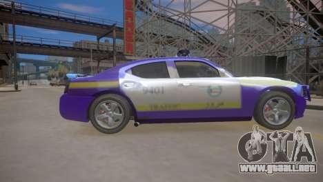 Dodge Charger Kuwait Police 2006 para GTA 4 vista interior