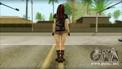 Bike Girl para GTA San Andreas segunda pantalla