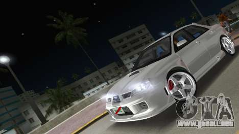 Subaru Impreza WRX STI 2006 Type 3 para GTA Vice City vista interior