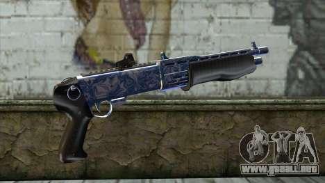 Graffiti Shotgun v2 para GTA San Andreas segunda pantalla
