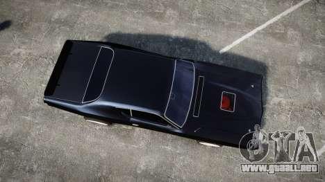 Dodge Charger 1971 para GTA 4 visión correcta
