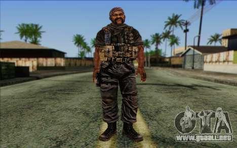 Los soldados de la Rogue Warrior 3 para GTA San Andreas