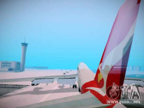 Boeing 747-438 Qantas Boxing Kangaroo para las ruedas de GTA San Andreas