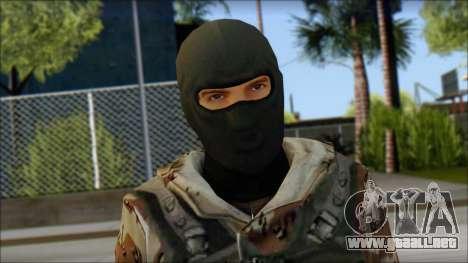 Soviet Soldier para GTA San Andreas tercera pantalla