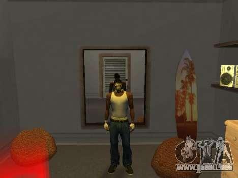 Máscara a partir de un Acosador para GTA San Andreas segunda pantalla