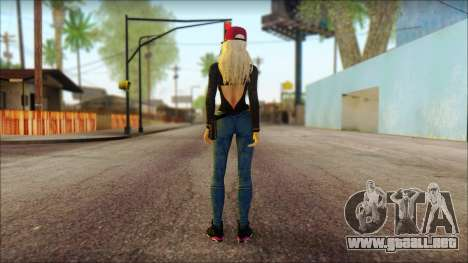Eva Girl v2 para GTA San Andreas segunda pantalla