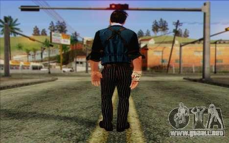 Booker DeWitt Skin para GTA San Andreas segunda pantalla