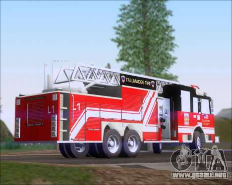 Pierce Arrow XT TFD Ladder 1 para GTA San Andreas left