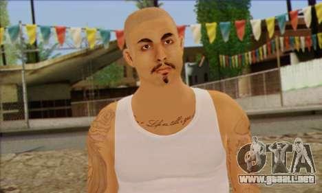 Vagos from GTA 5 Skin 2 para GTA San Andreas tercera pantalla