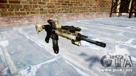 Automatic rifle Colt M4A1 mack hay para GTA 4
