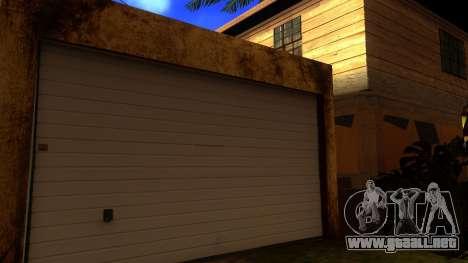 Nuevas texturas en HD casas en grove street v2 para GTA San Andreas sucesivamente de pantalla