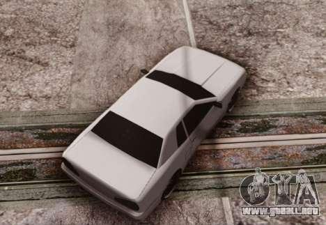 Elegy by Scop & Milky para GTA San Andreas vista posterior izquierda