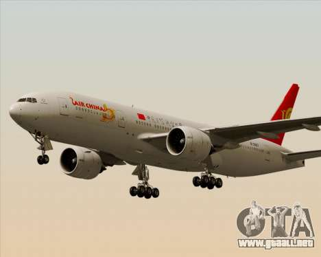 Boeing 777-200ER Air China para el motor de GTA San Andreas