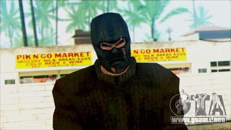 Manhunt Ped 18 para GTA San Andreas tercera pantalla