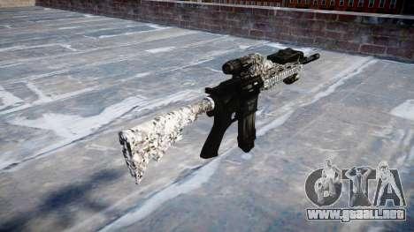 Automatic rifle Colt M4A1 diamante para GTA 4 segundos de pantalla