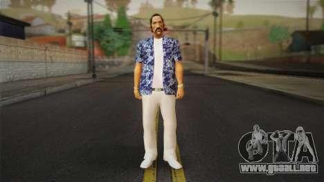 Vice City Style Ped para GTA San Andreas