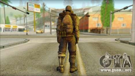 Beltway from RE: Operation Raccoon City para GTA San Andreas segunda pantalla