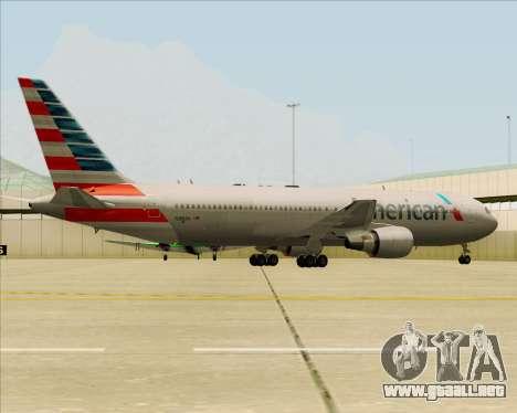 Boeing 767-323ER American Airlines para el motor de GTA San Andreas