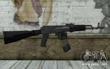 AK-101 from Battlefield 2 para GTA San Andreas segunda pantalla