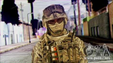 Ranger (CoD: MW2) v1 para GTA San Andreas tercera pantalla
