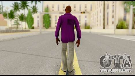 Purple Shirt Vic para GTA San Andreas segunda pantalla