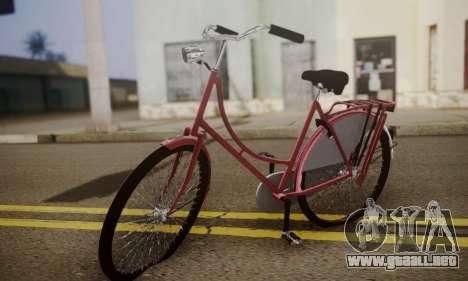 Amsterdam En Bicicleta para GTA San Andreas
