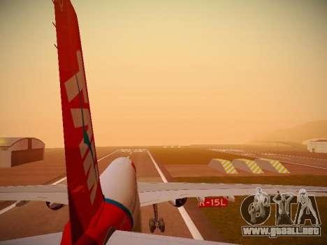 Airbus A330-200 TAM Airlines para el motor de GTA San Andreas