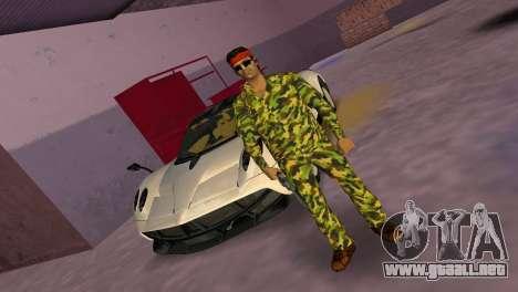 Camo Skin 07 para GTA Vice City segunda pantalla
