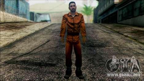 Danny from The Walking Dead: 400 Days para GTA San Andreas