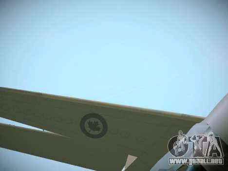 Canadian Forces Airbus CC150 Polaris para vista lateral GTA San Andreas