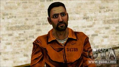 Danny from The Walking Dead: 400 Days para GTA San Andreas tercera pantalla