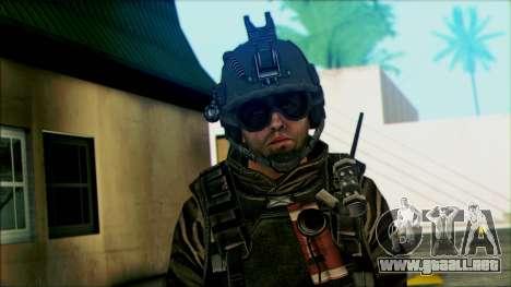 Los soldados aerotransportados (CoD: MW2) v5 para GTA San Andreas tercera pantalla