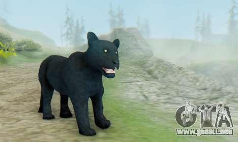 Black Panther (Mammal) para GTA San Andreas