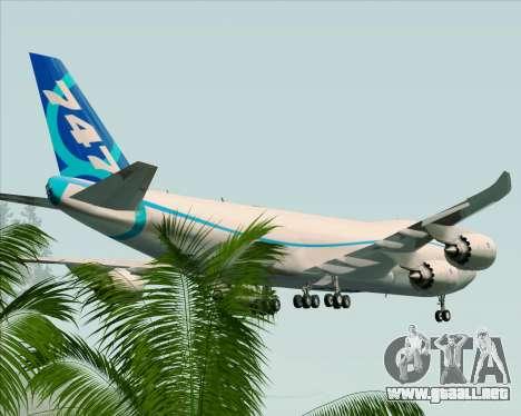 Boeing 747-8 Cargo House Livery para el motor de GTA San Andreas