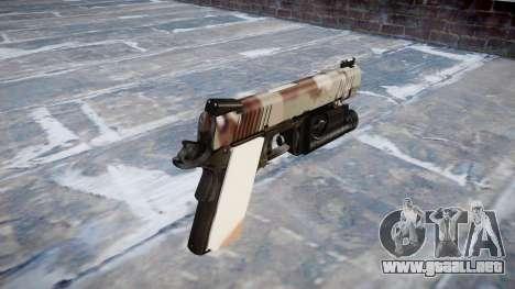 Pistola De Kimber 1911 Choco para GTA 4 segundos de pantalla