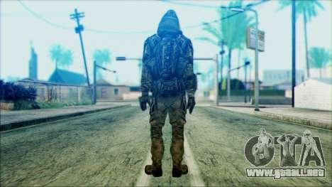 Un soldado del team 4 Phantom para GTA San Andreas segunda pantalla