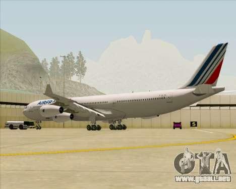 Airbus A340-313 Air France (New Livery) para la visión correcta GTA San Andreas