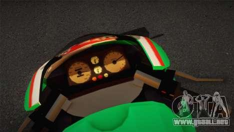Bati RR 801 Stronzo para GTA San Andreas vista posterior izquierda