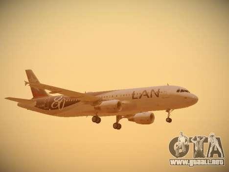 Airbus A320-214 LAN Airlines 80 Years para el motor de GTA San Andreas