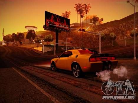 Nueva ENBSeries por MC_Dogg para GTA San Andreas sexta pantalla
