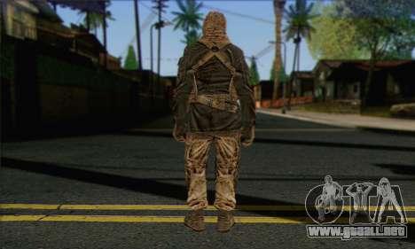 Task Force 141 (CoD: MW 2) Skin 18 para GTA San Andreas segunda pantalla