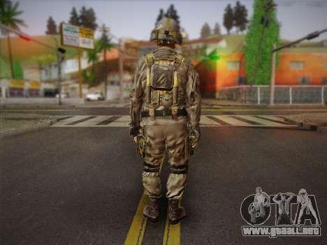 Боец СВР (Tom Clancy Splinter Cell) v2 para GTA San Andreas segunda pantalla
